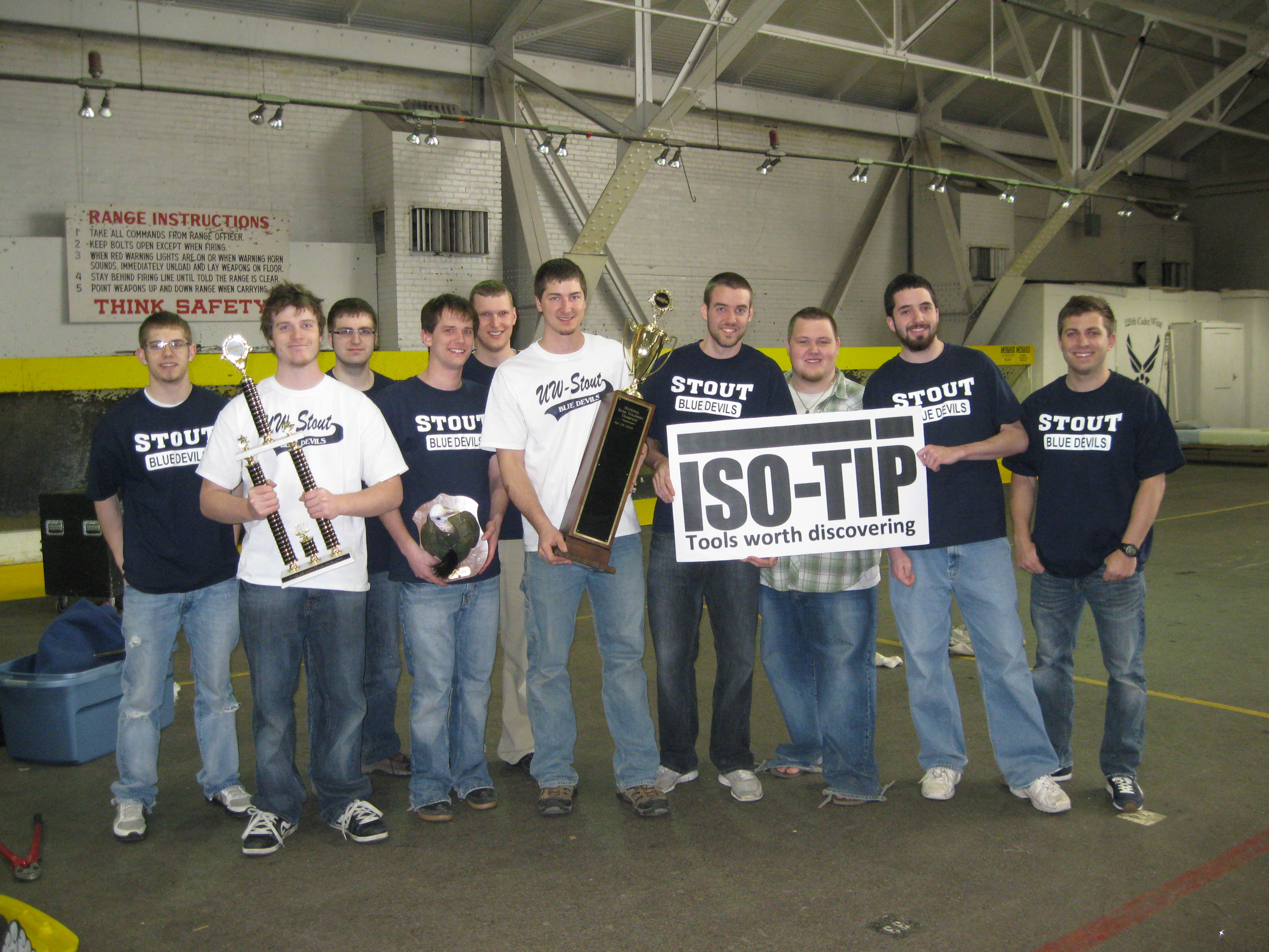 Iso-Tip Sponsored, UW Stout Rube Goldberg Team Wins National Competition!!