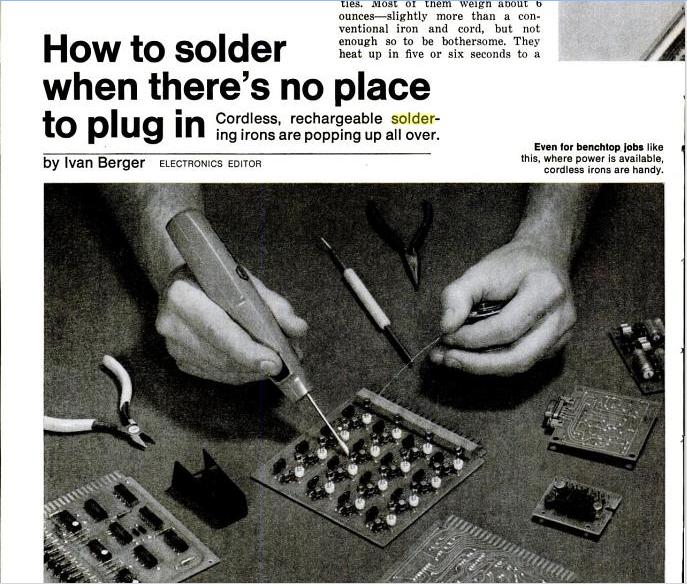 Iso-Tip Headlines Popular Mechanics in 1975