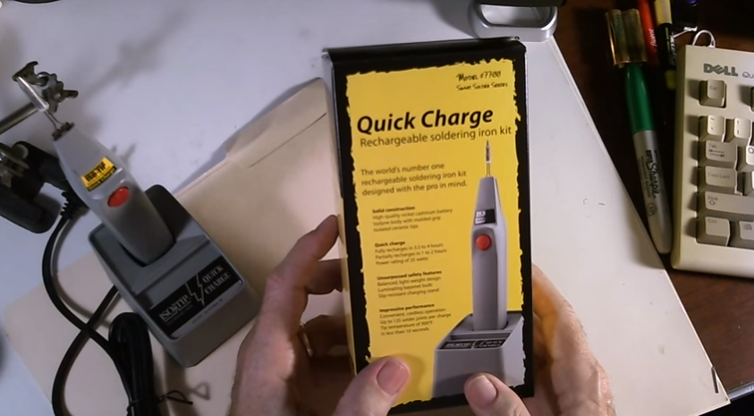 Rechargeable Wireless Soldering Iron Review