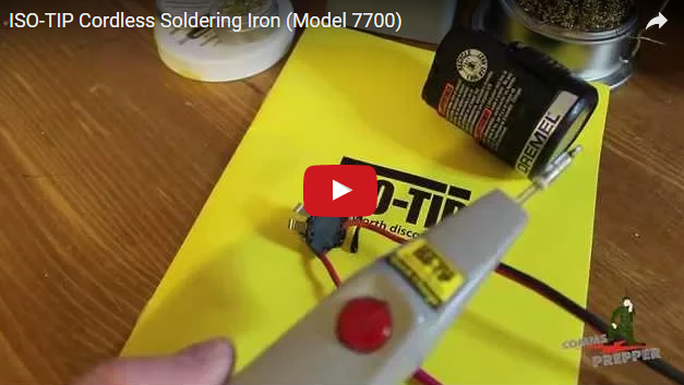 Portable Soldering Iron Necessary in Tool Kit