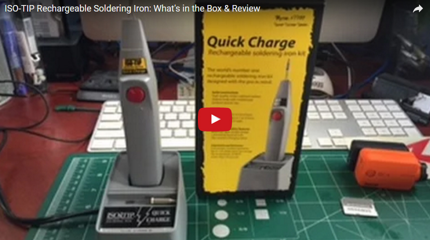Quick Charge Cordless Soldering Iron Put To the Test