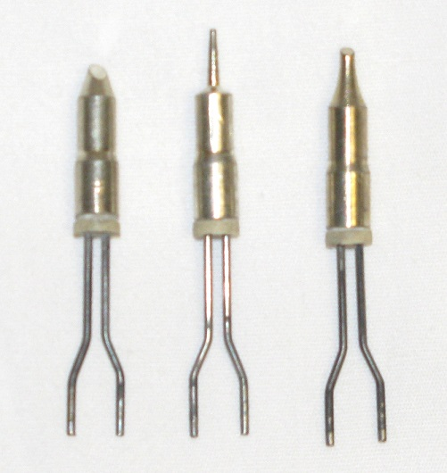 Standard Life Soldering Tips Pack; Regular, Fine Beveled and Micro Tip (#7550)