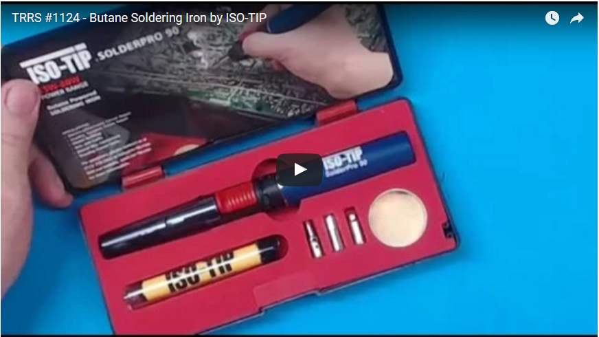 Pro 90 Butane Soldering Iron Kit Compared to the Weller Butane Irons