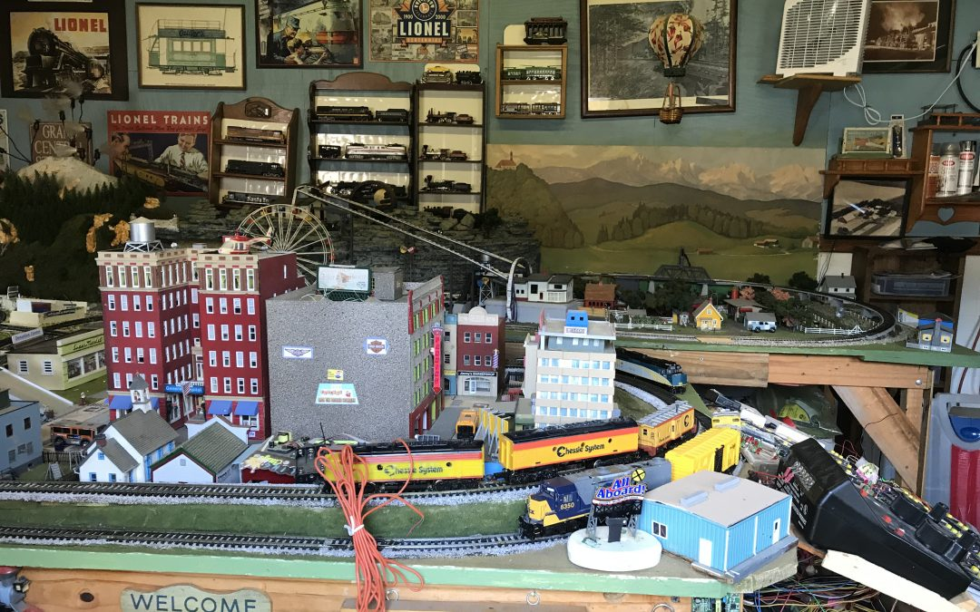 Soldering Irons and Model Railroads